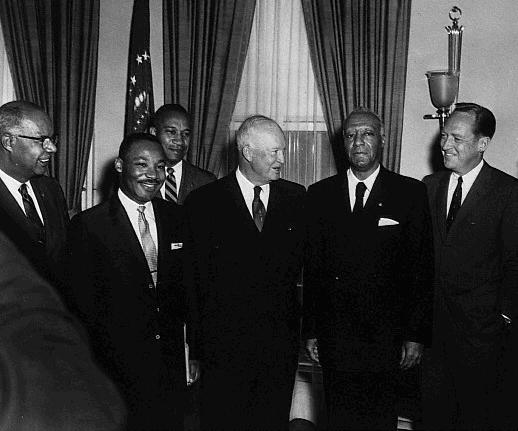 tlg-christian-news-evangelical-history-is-segregation-scriptural-a-radio-address-from-bob-jones-on-easter-of-1960-martin-luther-king-with-eisenhower