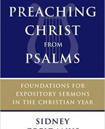 Like Scales and Jazz: How to Preach Christ from Psalms