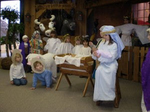TLG Christian News-Thoughts-What are Friends and Family For?-800px Childrens Nativity Play 2007 300x225