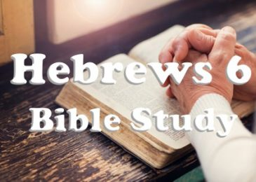 Hebrews 6 Bible Study, Summary and Discussion Questions