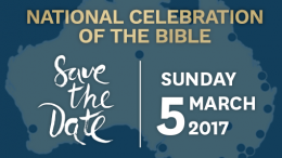 Celebrate the Bible with us in 2017