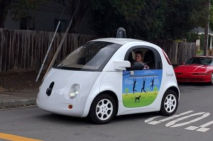 TLG Christian News-US-A problem with self-driving cars-640px Google driverless car at intersection